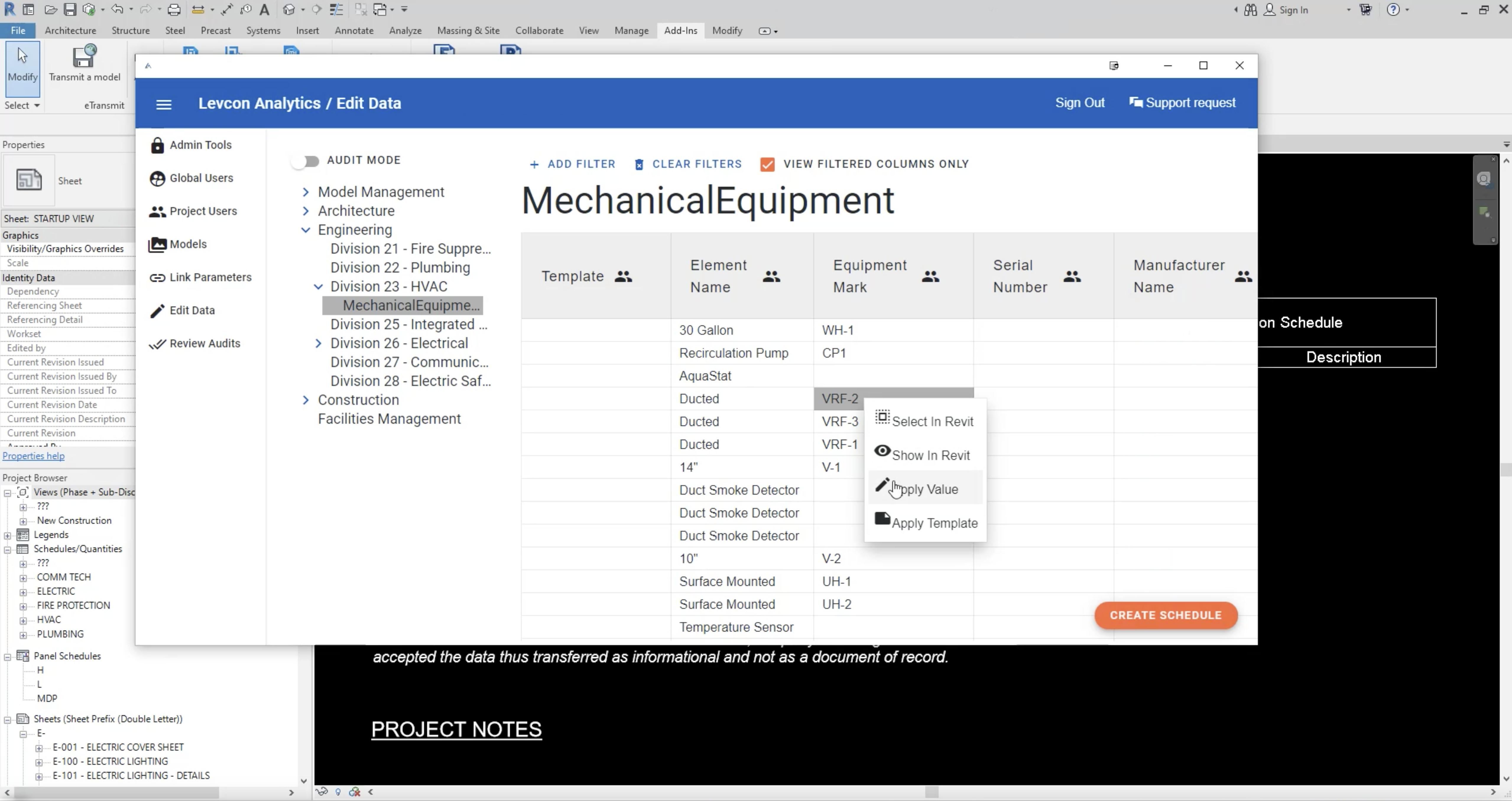 Covergit's Edit Data tool