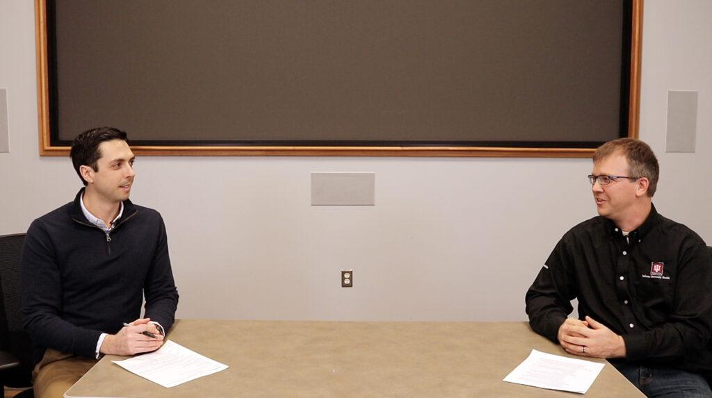 Alex Jonovski interviews Toby Kelly, IU Health